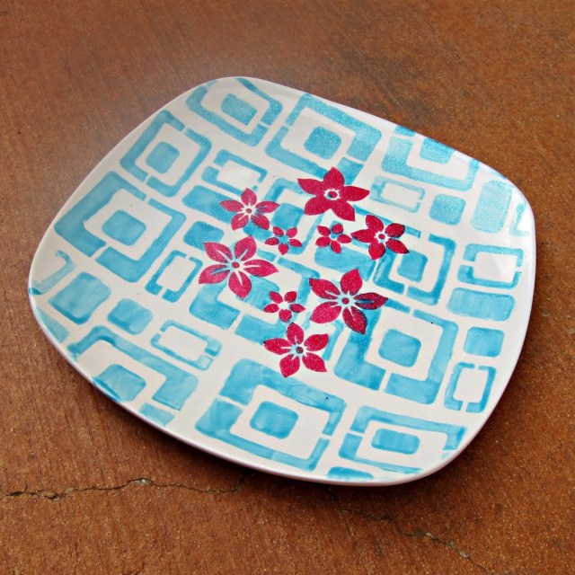Painted-Party-Plate