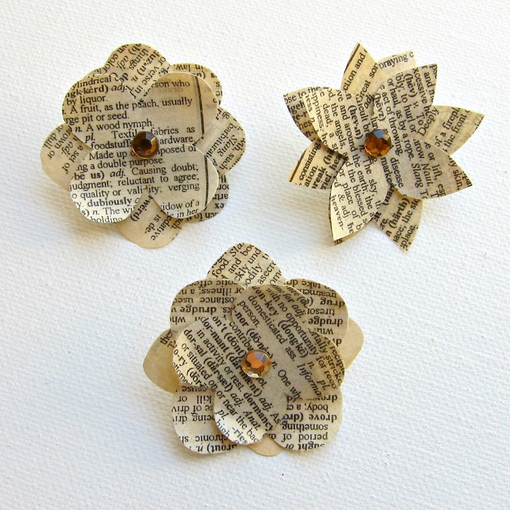 Make a paper flower push pin morenas corner diy paper flower pins mightylinksfo