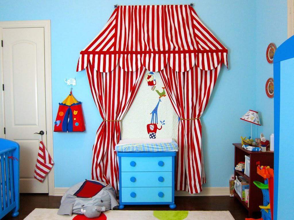 Barn door nursery