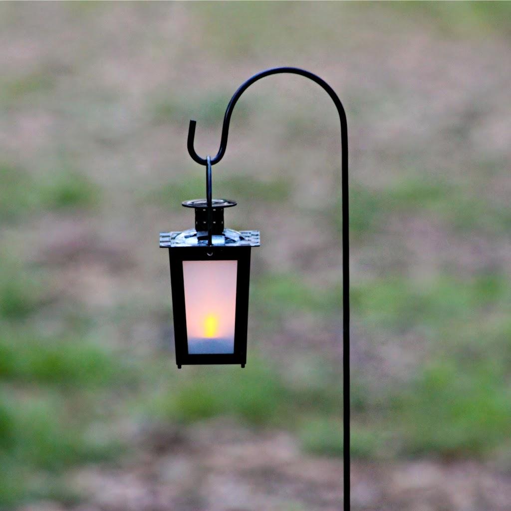 Make a lit garden path with dollar store items morena 39 s - Make hanging lanterns ...