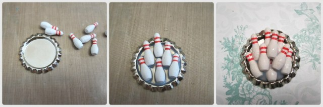 how to make bowling pendant