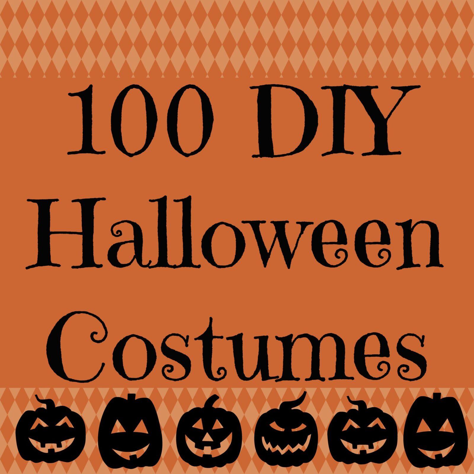 100 DIY Halloween Costume Tutorials