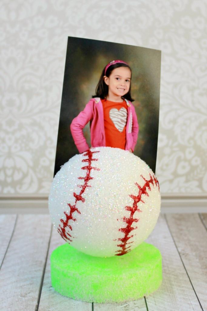 baseball memo holder