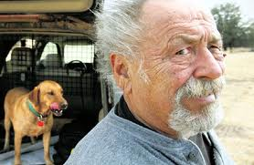 jim harrison and dog