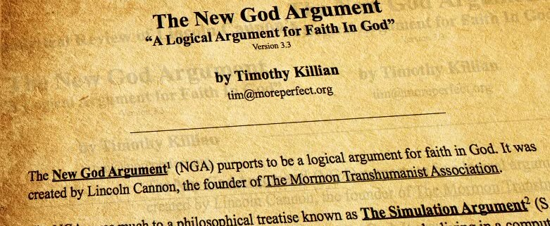 An Analytical Review of The New God Argument