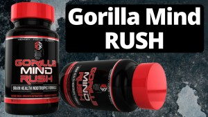 Two bottles of Gorilla Mind Rush