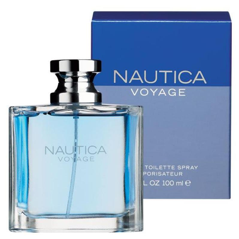 Nautica Voyage Bottle and Box