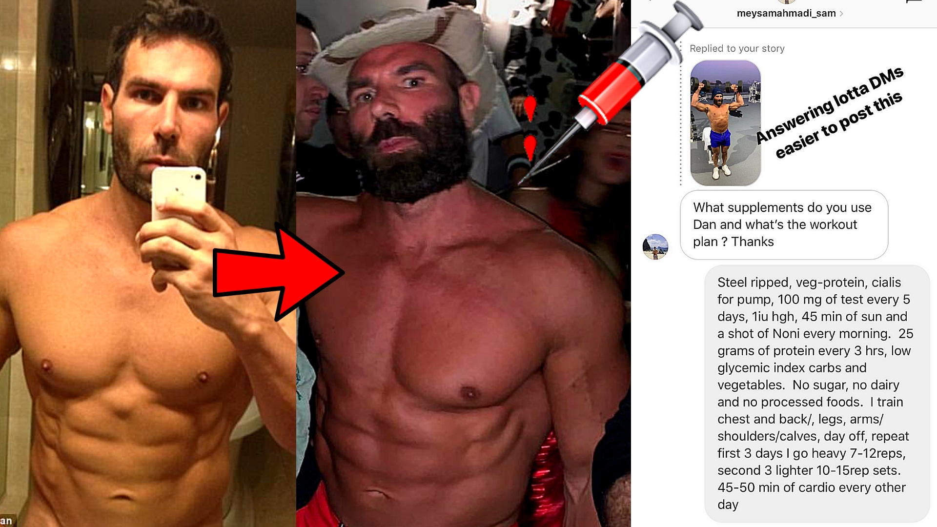 Dan Bilzerian Steroid Cycle Article Thumbnail