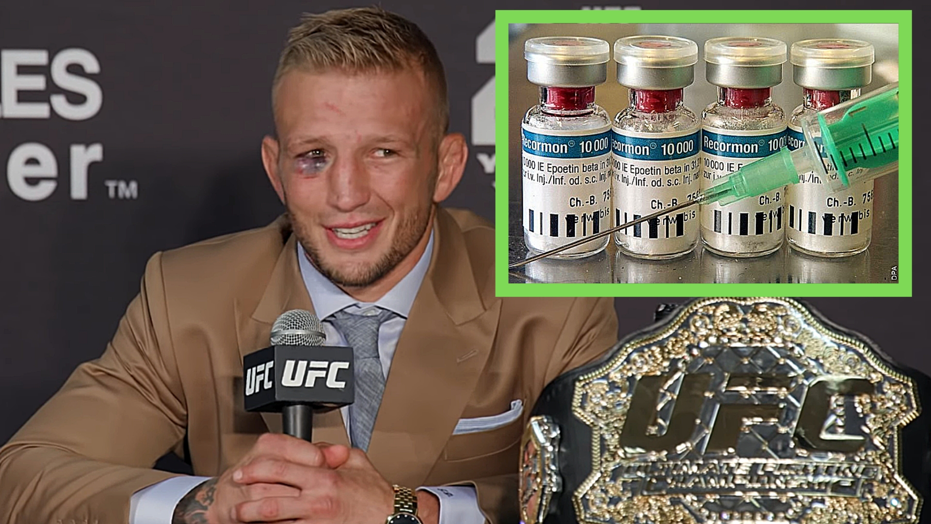 TJ Dillashaw Tests Positive For EPO - Analysis Of UFC PED Choices