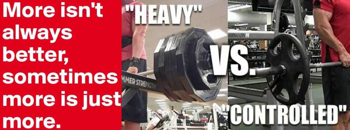 Heavy Weight Lifting Vs Controlled Weight Lifting