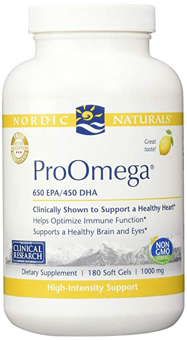Bottle Of Nordic Naturals Pro - ProOmega