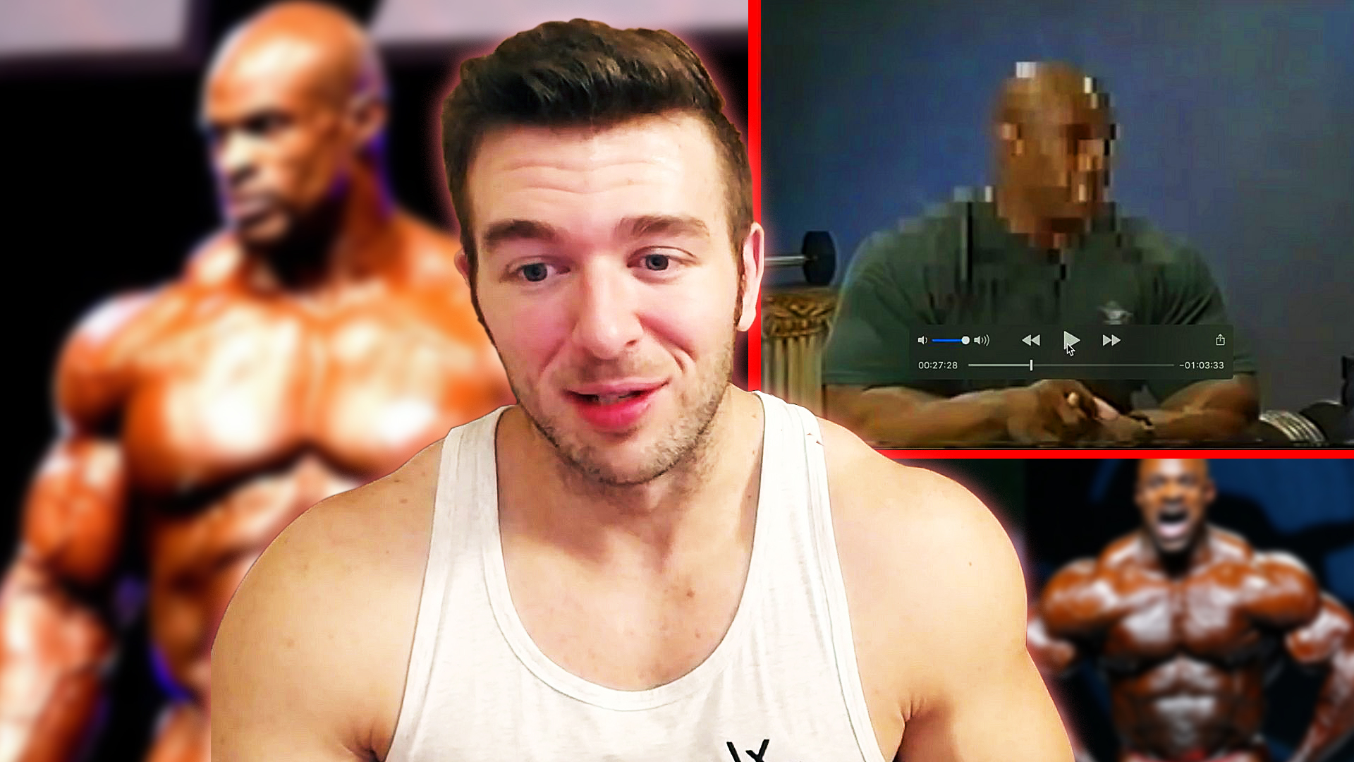 Derek from MorePlatesMoreDates reacts to Ronnie Coleman's Steroid Cycle being discussed with Tom Platz