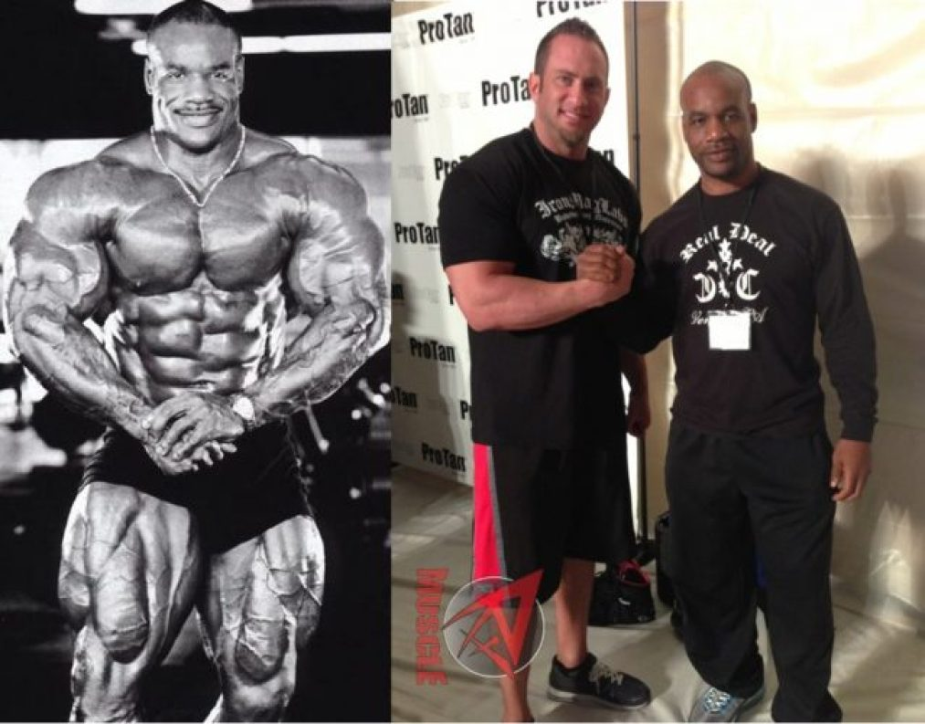 Chris Cormier then and now body