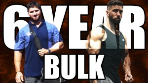 Julian Smith before and after a 6-year bulk phase