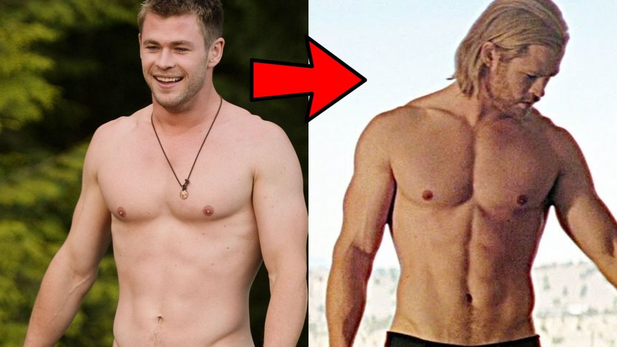 Chris Hemsworth's Steroid Cycle Results To Complete His Body Transformation Of A 20-25 Pound Fat-Free Mass Gain Over 6 Months