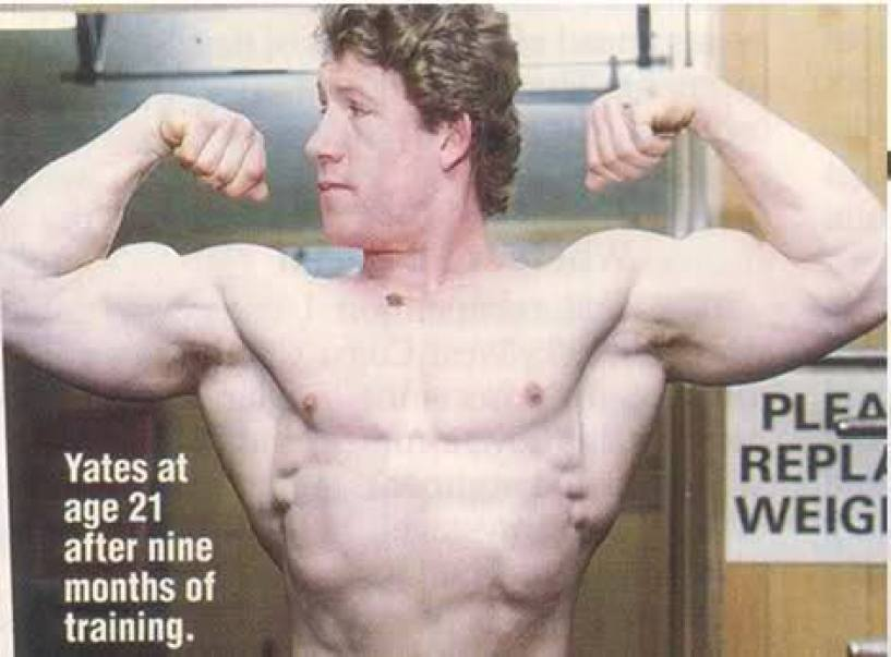 Dorian Yates at 21 years old after 9 months of training