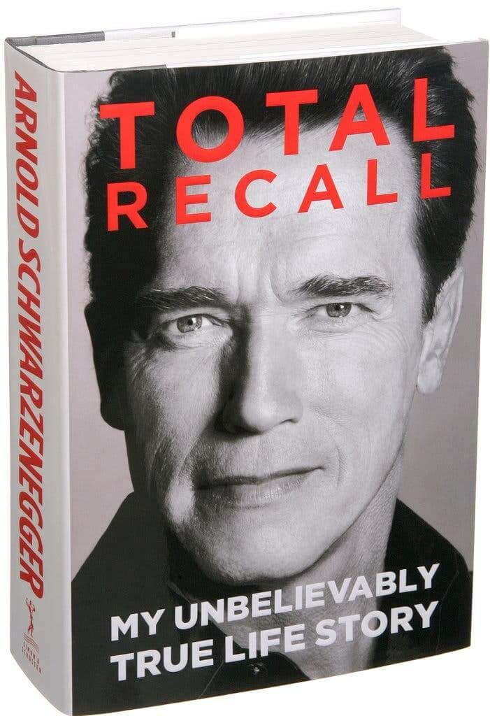 Arnold Schwarzenegger's Autobiography Totall Recall