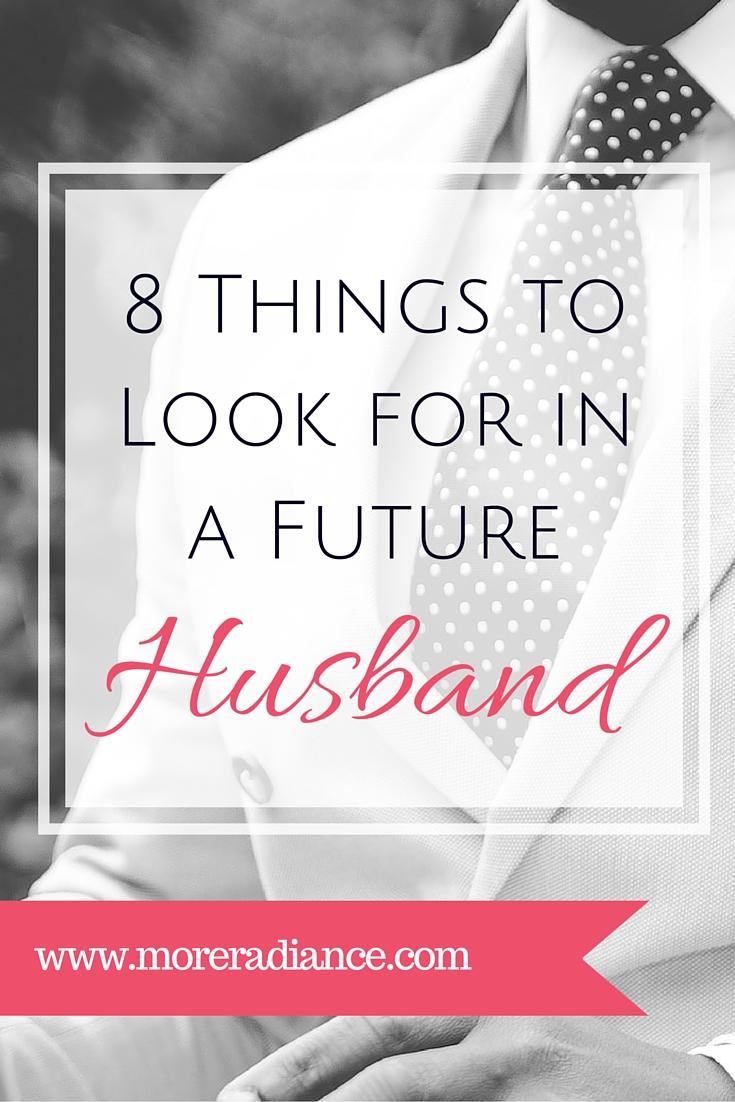 What i want in a husband list