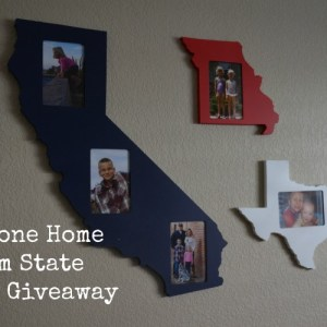 Pinecone Home State Frames Review and Giveaway