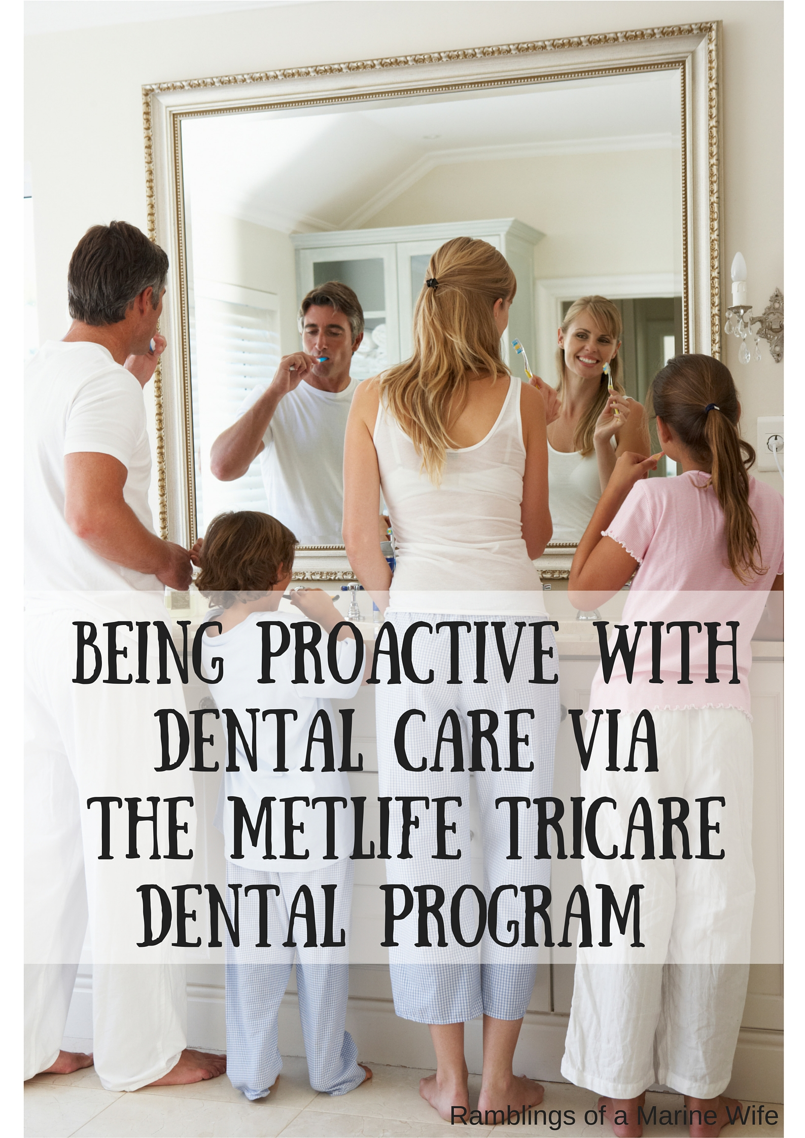 Being Proactive With Dental Care Via The Metlife TriCare Dental