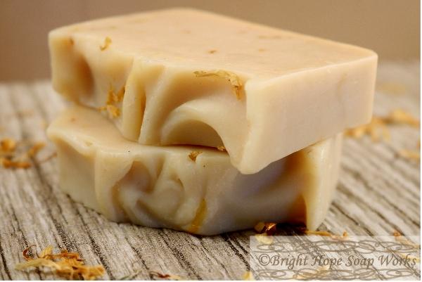Lavender Calendula Goat Milk Soap
