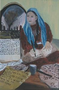 פריחא המשוררת.אלישבע שטרית