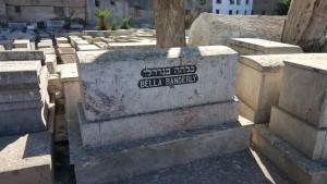 דוד גדג-קברה של בלהה בנדרלי