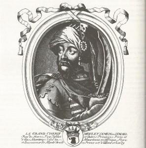 דיוקן הקיסר מולאי אסמאעיל על פי צייר צרפתי