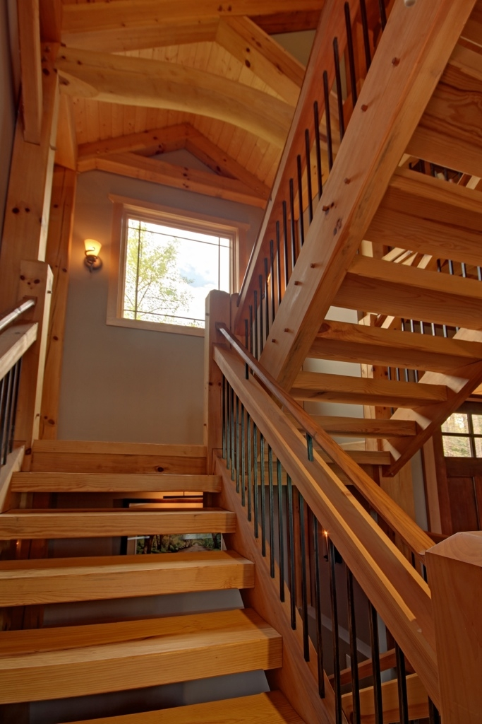 Timber Stairs Handrails Interior And Exterior Custom Built By | Wood Railings For Steps | Craftsman Style | Inside | Glass | Verandah | Stair Outdoors
