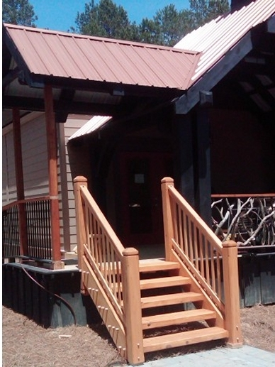 Timber Stairs Handrails Interior And Exterior Custom Built By | Exterior Wood Handrails For Steps | Attached | Ready Made | Off Deck | Stoop | Pinterest