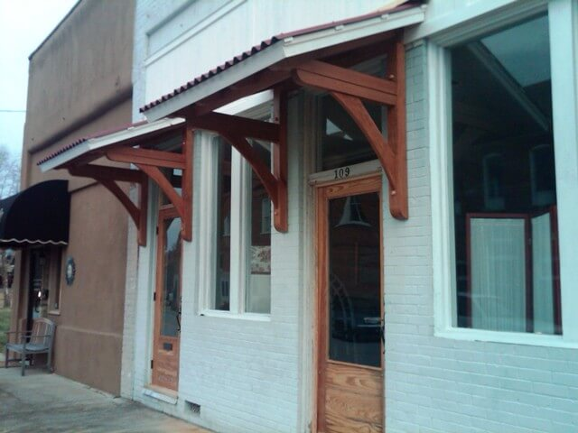 Timber frame entrances created in South Carolina by MoreSun