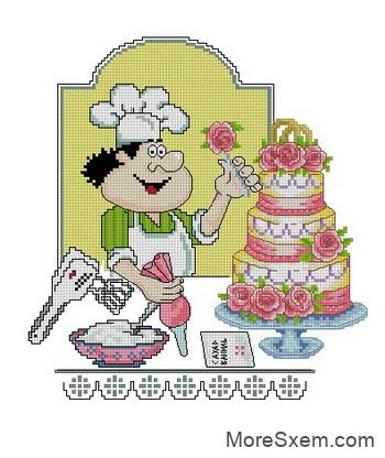 Свадебный тортик