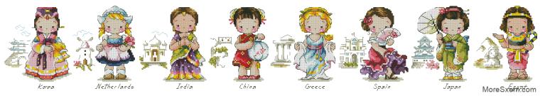 Традиционные наряды мира
