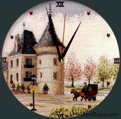 Часы Замок