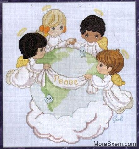 Ангелы поддерживают мир