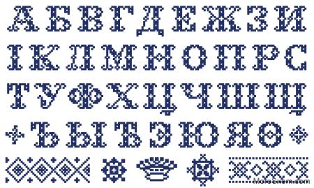 Старинный алфавит