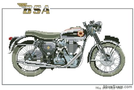 """Мотоцикл """"Золотая звезда"""""""