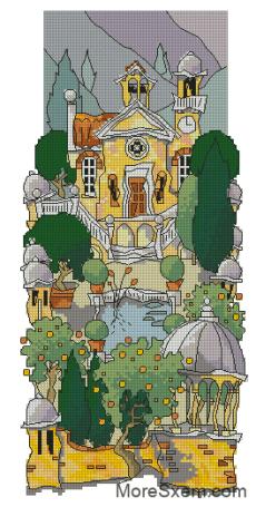 Тосканский сад