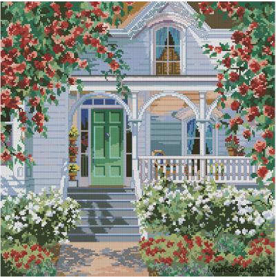 Дом красной розы