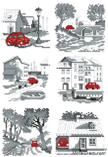 Приключения красной машинки