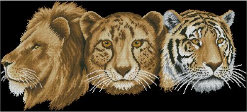 Трио большого кота
