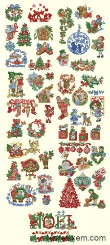 История Рождества 50 миниатюр