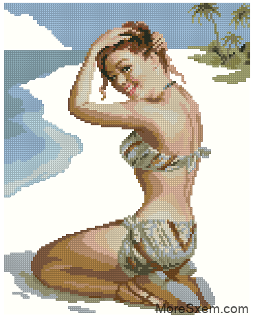Девушка в купальнике