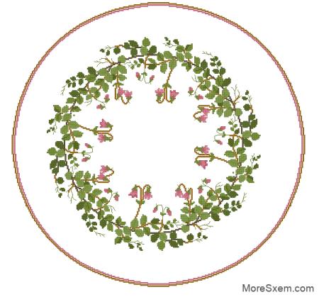 Салфетка-Скатерть (круглая)