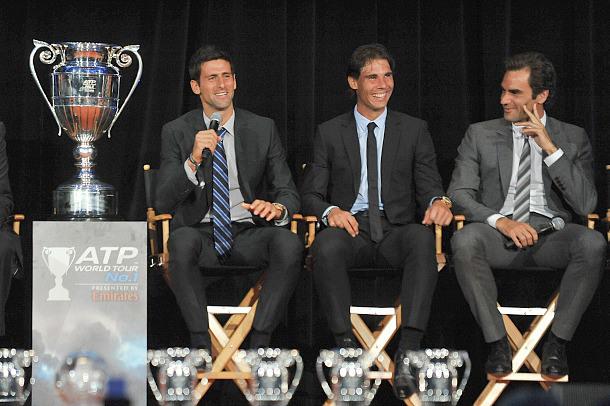 Image result for Roger Federer & Rafael Nadal & Novak Djokovic