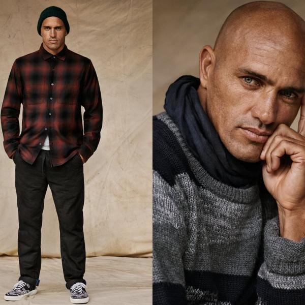 Pro Surfer Kelly Slater For Mr. Porter, Talks Outerknown Clothing Brand