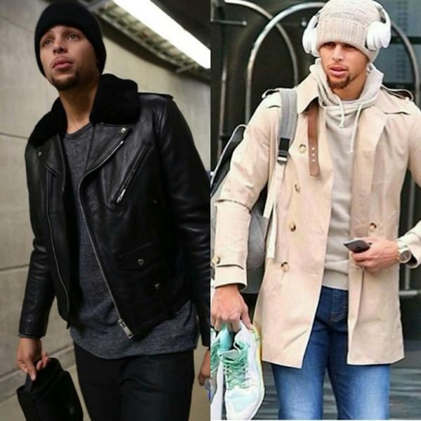 STYLE: NBA Stephen Curry Loves Sandro Paris