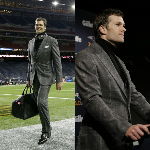 Tom Brady Tops NFL Best Dressed List