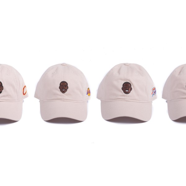 Adidas Designs Dad Hats Of LeBron James, Kobe Bryant, KD & Steph Curry