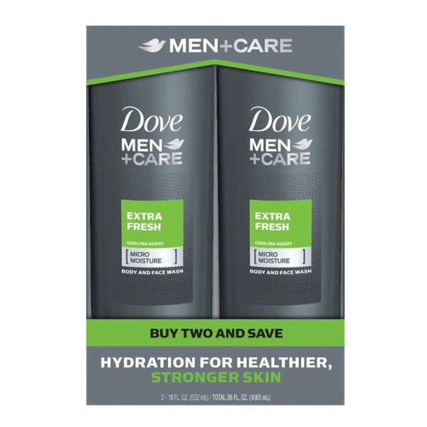 Why Men Should Use Dove Men+Care Body & Face Wash For Skin Care.